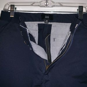Navy ICO skinny dress pants